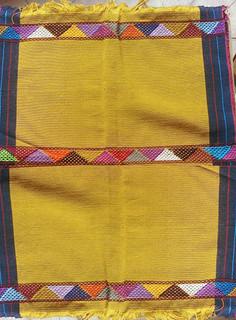 Gold Hand-woven Placemats $250 each/cu plus shipping (mas envio)