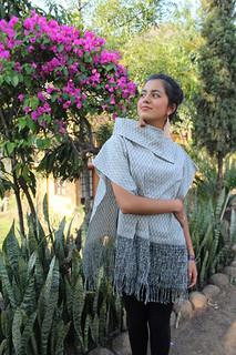 """Ikat """"gabán"""" innovative shawl $3200 pesos plus shipping (mas envio)"""