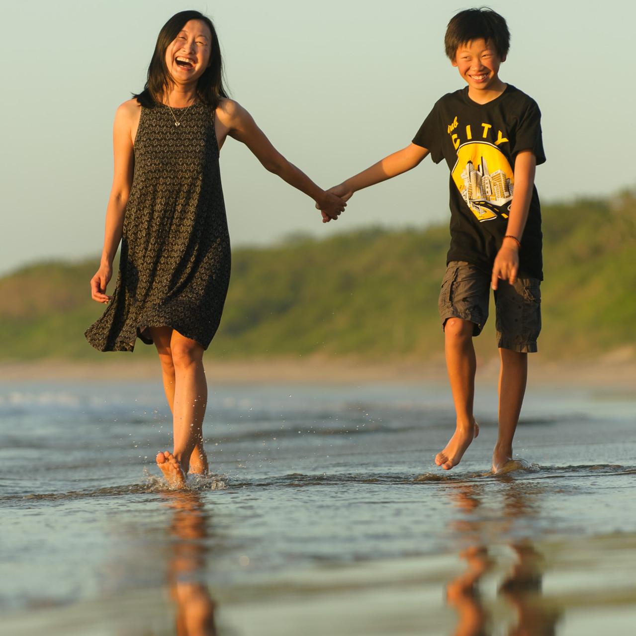 Long walks on the beach at Hacienda Pinilla