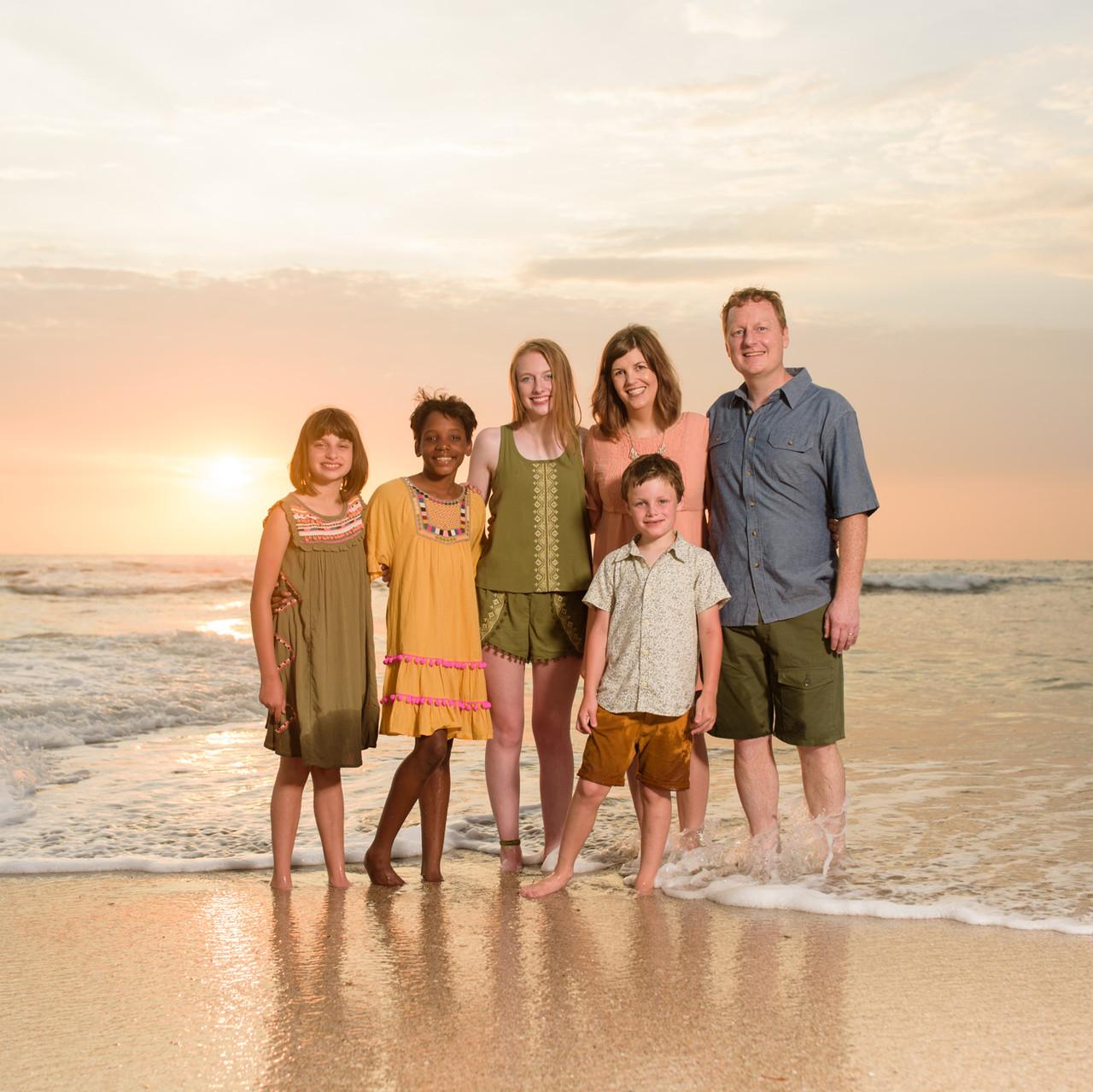 Family time at Cala Luna Playa Langosta