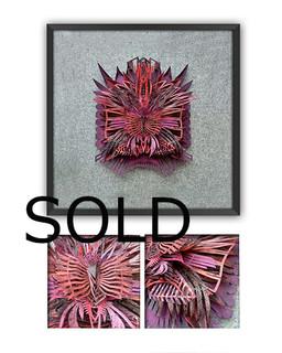 "SOLD-""HEARTBEAT OF GRANA"" $3,600 pesos plus shipping (mas envio)"
