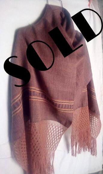 SOLD-Cotton Rebozo $1,000 pesos plus shipping (mas envio)