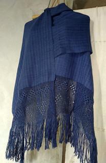 Hand-Woven Cotton Rebozo $1000 pesos plus shipping (mas envio)
