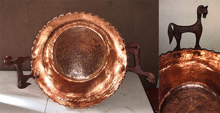 3rd Place Winner Copper Pot $15,000 pesos plus shipping (mas envio)