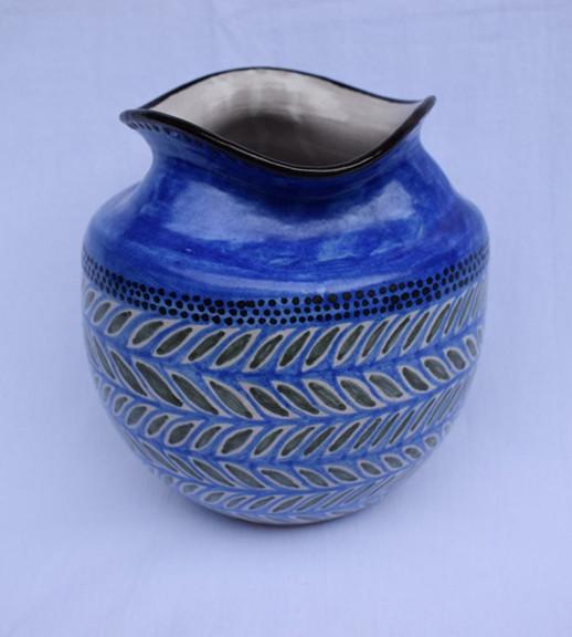 High-fire Vase $800 pesos plus shipping (mas envio)