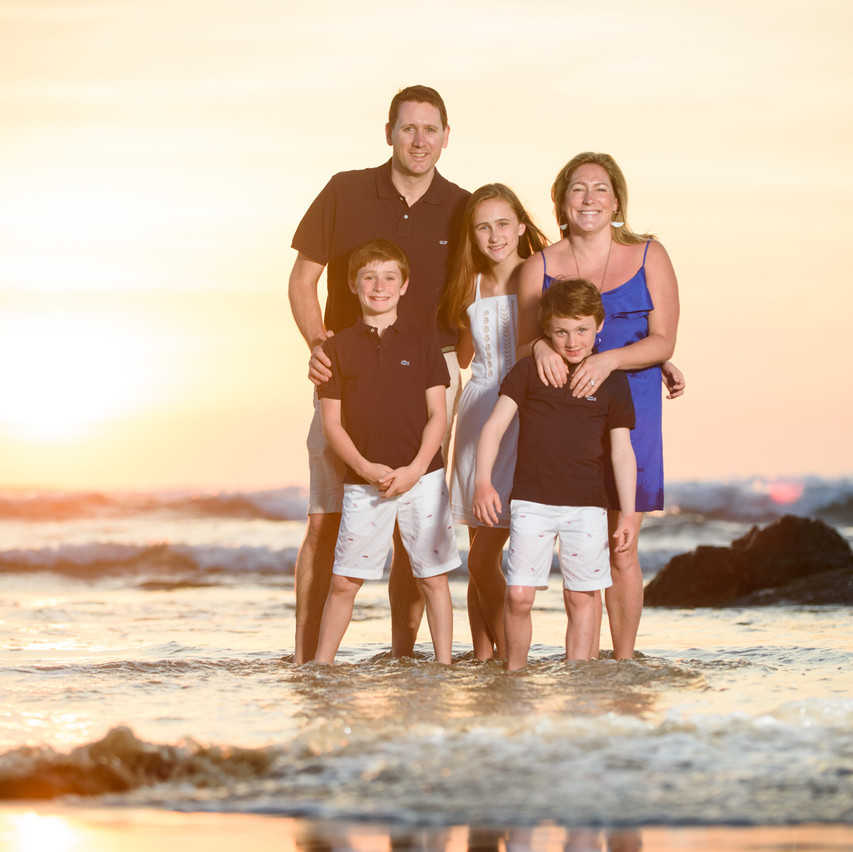 Family photography in Tamarindo