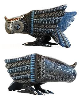 """""""Black owl in Full Moon"""" $4500 pesos plus shipping (mas envio)"""