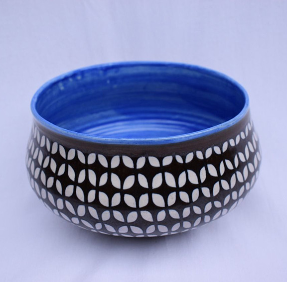 High-fire Ceramic Bowl $1,000 pesos plus shipping (mas envio)
