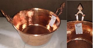 Copper Pot $10,000 pesos plus shipping (mas envio)