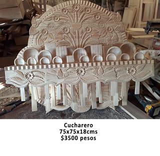 Cucharero $3,500 pesos plus shipping (mas envio)
