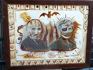 Antique photo: Pascual & Maria $1500 pesos plus shipping (mas envio)