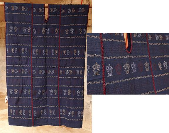 Endangered: Coyuchi Indigo with Purpura Huipil $8,000 pesos plus shipping (mas envio)