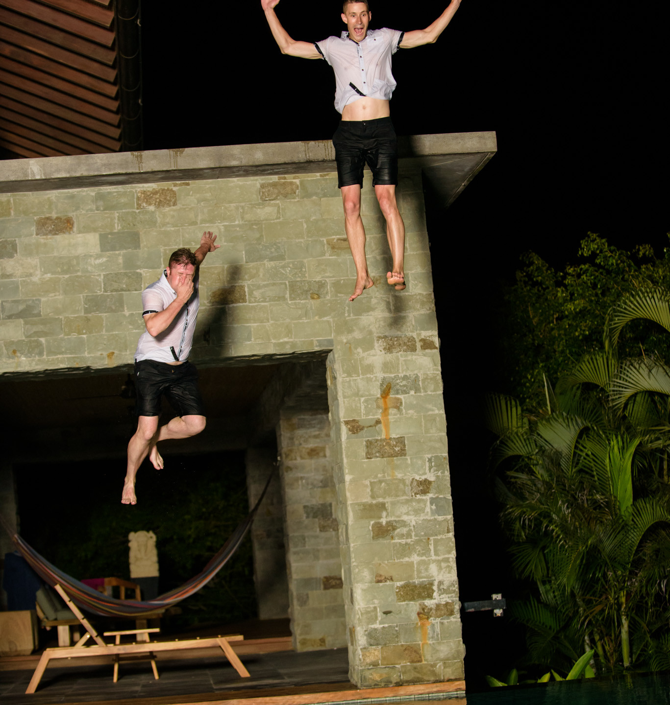 Taking the leap at Casa Alang Alang