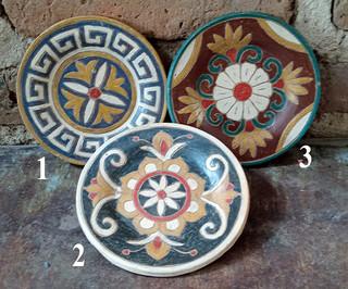 """Small 6"""" Plate $200  pesos each/cu plus shipping (mas envio)"""