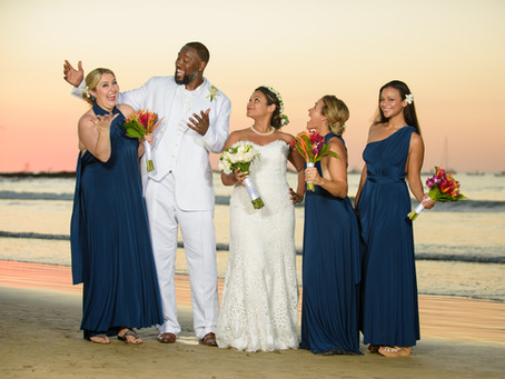 Chantel & Murphy's Tamarindo Diria Wedding