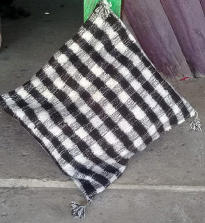 Hand-woven pillow cover/s $350 each plus shipping (mas envio)