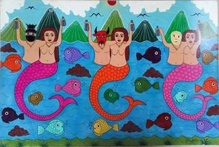 The Mermaids $2,500 pesos plus shipping (mas envio)