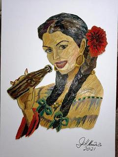 Popotillo of beautiful woman $1500 pesos plus shipping (mas envio)