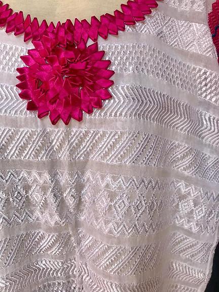 closeup of blouse