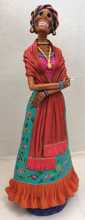 Frida Kahlo Catrina by Blanca Jiménez $1700 pesos plus shipping (mas envio)