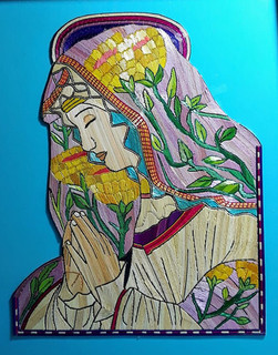 Framed Virgin Mary $950 pesos plus shipping / mas envio