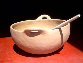 Ceramic Casserol with Spoon $2,500 pesos plus shipping (mas envio)