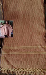 Large-size Ruana/Poncho $1650 pesos plus shipping (mas envio)