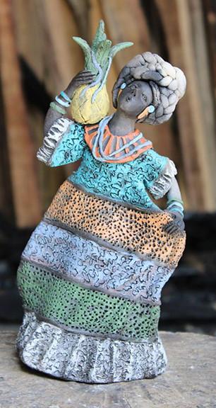 "Artist Fernando Peguero: ""Pineapple Flower"" $1,900 pesos plus shipping (mas envio)"