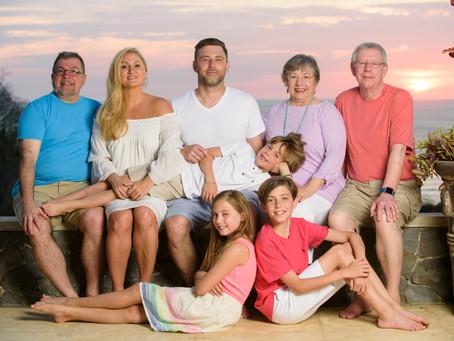 Family Vacation Photo Shoot in Tamarindo
