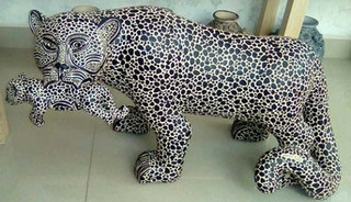 Jaguar with baby $4,500 pesos plus shipping (mas envio)