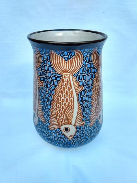 High-temperature vase $1500 pesos plus shipping (mas envio)