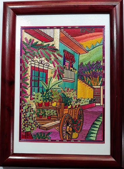 Casa Con Carreta Popotillo $480 pesos plus shipping (mas envio)