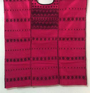 Cotton Short 3-Panel Mercerized Huipil $3500  pesos plus shipping (mas envio)