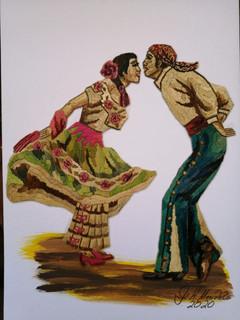 Popotillo Dancers $1500 pesos plus shipping (mas envio)