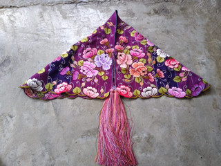 Embroidered Cape $1000 pesos plus shipping (mas envio)