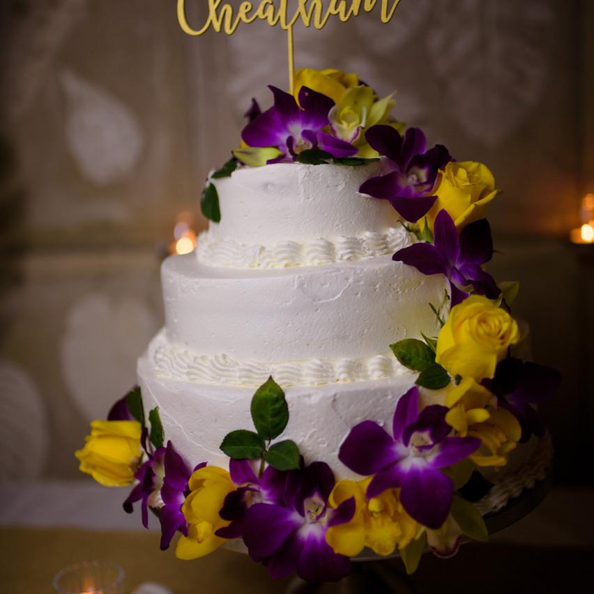 Wedding cake elegance at Tamarindo Diria