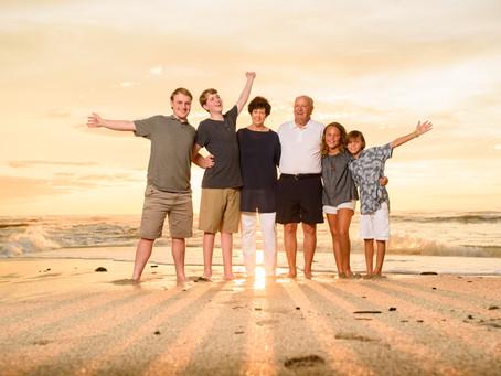 Family Reunion Sunset Photo Shoot at Cala Luna