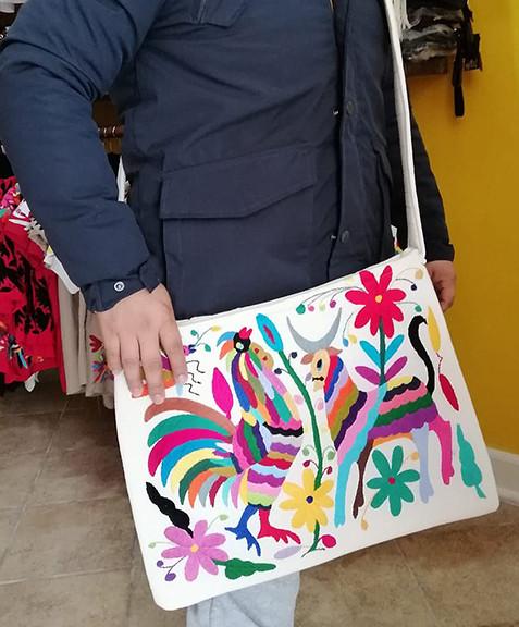 Otomi Cotton Purse $690 pesos plus shipping (mas envio)