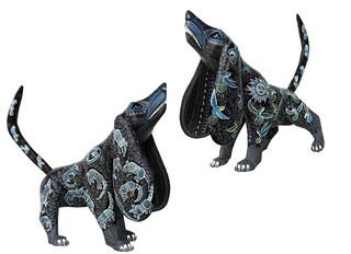 """""""Big-eared Dog Walking"""" $7500 pesos plus shipping (mas envio)"""