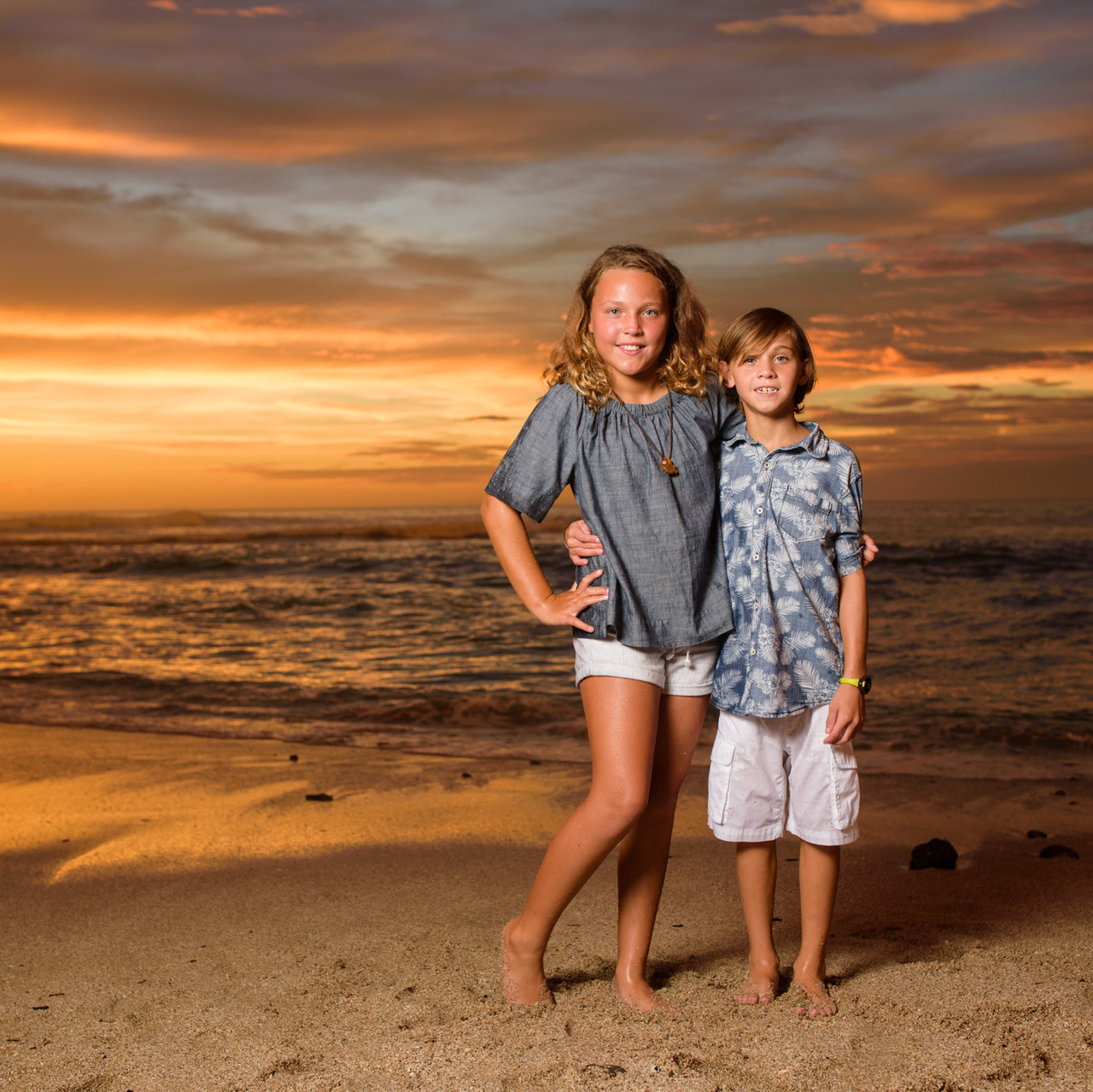 Costa Rica family portraits