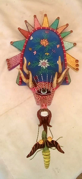 Miniature Mask $700 pesos plus shipping / mas envio