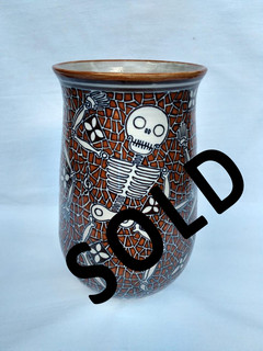 SOLD-High-temperature vase $1800 pesos plus shipping (mas envio)