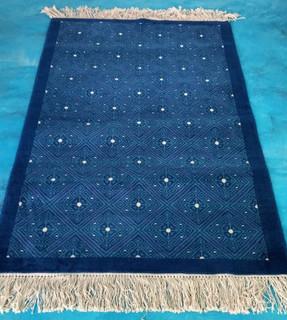 """Larrainzar"" Oriental-style hand-knotted rug $10050 pesos plus shipping (mas envio)"