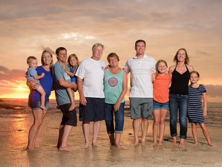 Charlene & Family's Photo Shoot at Langosta Beach