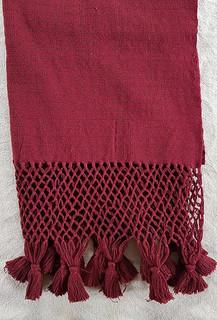 Hand-woven Wine Rebozo $1850 pesos plus shipping (mas envio)