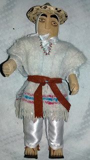 Male doll (muñeco) $500 pesos