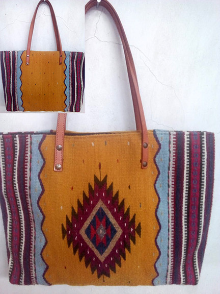 """Mountain & Diamond"" Wool Bag $850 pesos plus shipping (mas envio)"