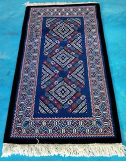 """Tenejapa"" oriental-style hand-knotted rug $5970 pesos plus shipping (mas envio)"