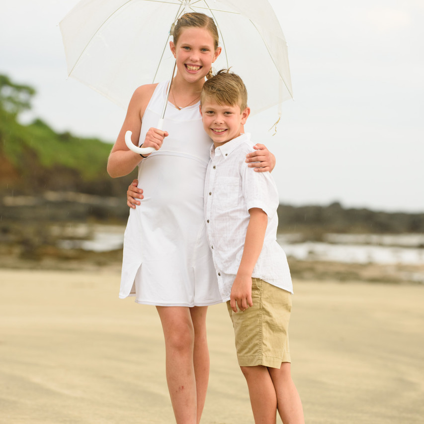 Rainy season portraits in Costa Rica
