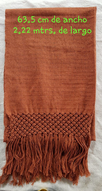 Hand-Woven Rebozo $1600 pesos plus shipping (mas envio)